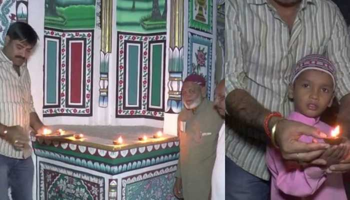 rajasthan: people of jhunjhunu celebrates diwali in this dargah with diya's and crackers