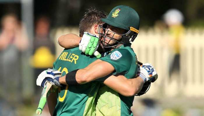 AUSvsSA: मिलर, डु प्लेसिस ने बनाया रिकॉर्ड, दक्षिण अफ्रीका ने बनाए 320 रन