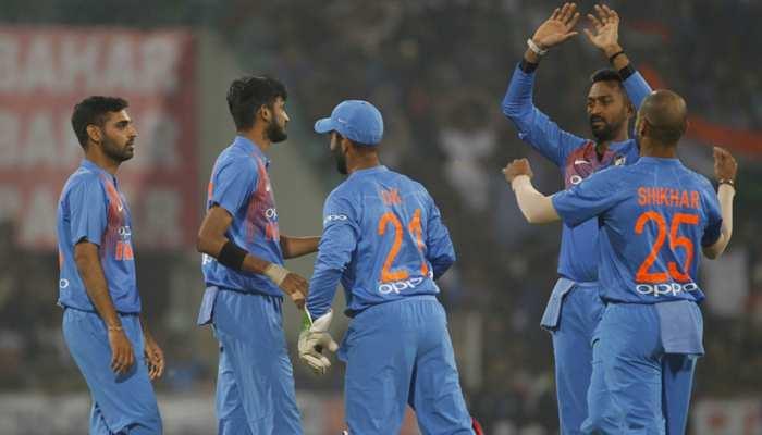 INDvsWI: आखिरी बॉल पर जीता भारत, 3 मैचों की सीरीज में तीसरी बार किया क्लीन स्वीप