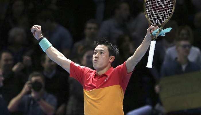 टेनिस: एटीपी फाइनल्स के पहले दौर में हारे फेडरर, केई निशिकोरी ने 4 साल बाद हराया