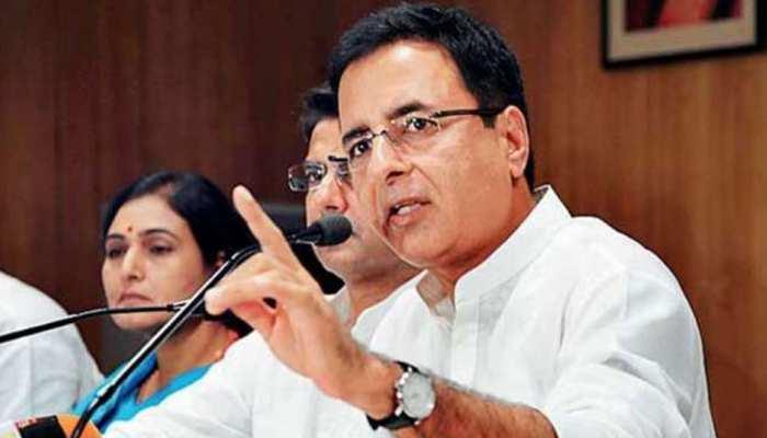 जयपुर: रणदीप सुरजेवाला ने किया BJP पर तंज, कहा- सरकार ने प्रदेश के साथ धोखा किया है