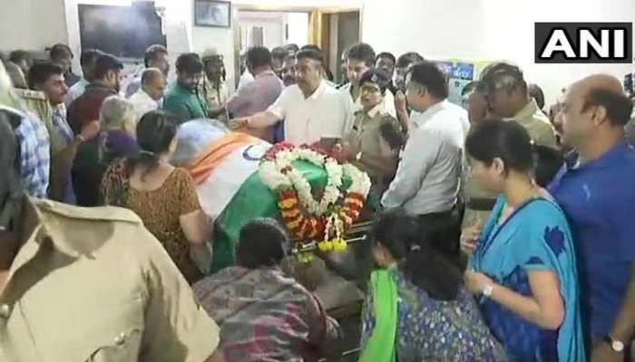 आज बेंगलुरु में होगा बीजेपी नेता अनंत कुमार का अंतिम संस्कार, बड़े नेता होंगे शामिल