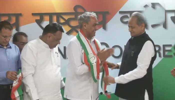राजस्थान: कौन है मोदी सरकार में सांसद, जिसने कांग्रेस ज्वाइन कर BJP को झटका दिया?