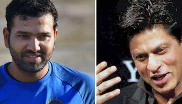 VIDEO: शाहरुख ने दिया रोहित शर्मा को वादा, IPL में परफॉर्म करेंगे 'काली-काली आंखे'