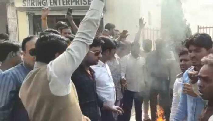 राजस्थान चुनाव- टिकट बंटवारे की घोषणा के बाद राजस्थान में कांग्रेसी कर रहे बगावत