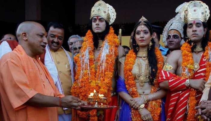बीजेपी के मंत्री ने किया ऐलान, 2019 चुनावों से पहले योगी करेंगे राम मंदिर का शिलान्यास