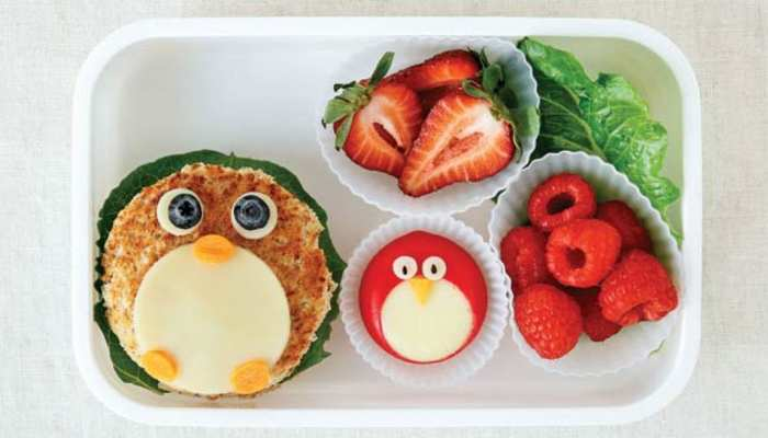Experiments with children's school lunch