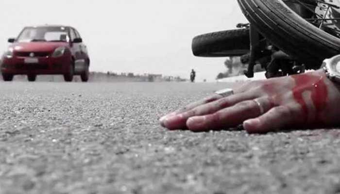 सहारनपुर: ट्रक की टक्कर से बाइक सवार दंपति, मासूम बच्ची की मौत