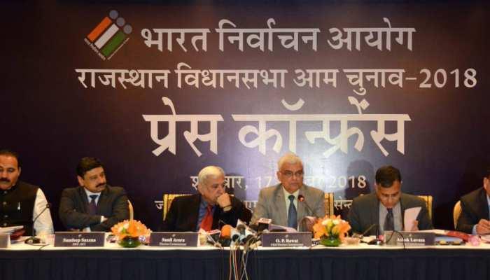 ओपी रावत ने की जयपुर में मीडिया से बातचीत, चुनाव के तैयारी की दी जानकारी
