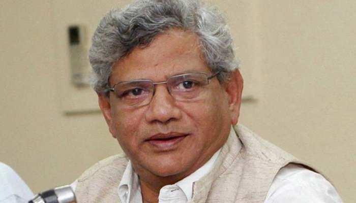 सीताराम येचुरी बोले, 'त्रिपुरा में बीजेपी-RSS के संरक्षण में हो रहे हैं CPM नेताओं पर हमले'