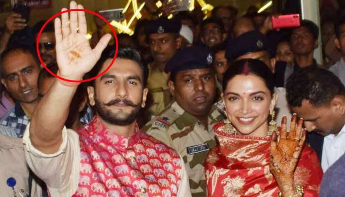Photos of ranveer singh and deepika padukones Mehnadi Bollywood