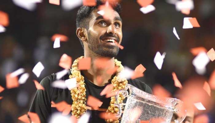 रैंकिंग: प्रजनेश गुणेश्वरन बने देश के नंबर एक टेनिस खिलाड़ी, 110वें नंबर पर पहुंचे