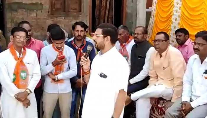 मध्य प्रदेशः भाजपा विधायक की मतदाताओं को धमकी, बोले- 'वोट नहीं तो पानी नहीं'
