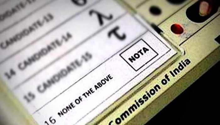 MP चुनाव 2018: ग्वालियर का यह प्रत्याशी वोट के लिए नहीं 'नोटा' के लिए कर रहा है प्रचार