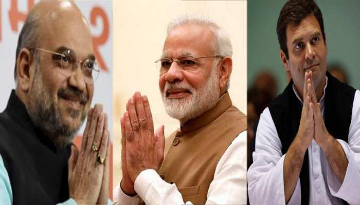मध्य प्रदेश में आज मोदी, राहुल और शाह करेंगे सभाएं