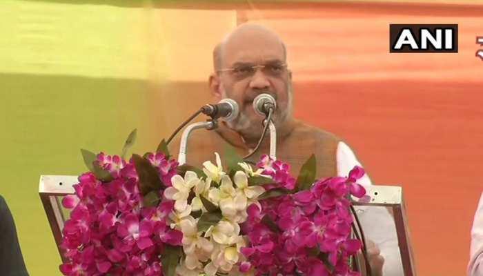 अमित शाह का राहुल गांधी से सवाल, पूछा- मध्यप्रदेश में कौन है आपका सेनापति