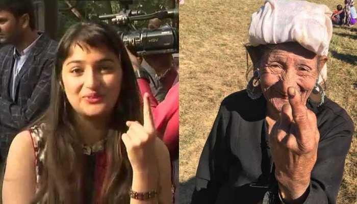 मध्य प्रदेश में 75 फीसदी और मिजोरम में 5 बजे तक 75 फीसदी हुआ मतदान