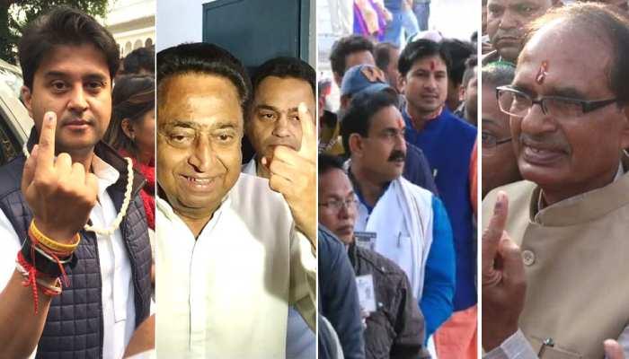 मध्यप्रदेश विधानसभा चुनाव 2018 : छिटपुट हिंसा के बीच 74.61 फीसदी वोटिंग