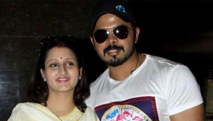 श्रीसंत की पत्नी ने BCCI को लिखा खत, पति के लिए की इंसाफ की मांग