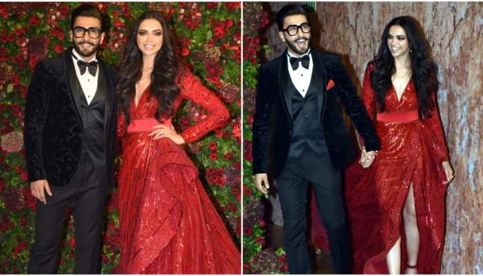 Photos of Ranveer Singh-Deepika Padukone's Mumbai wedding reception in Grand Hyatt