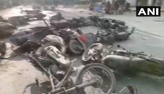 बुलंदशहर : गोकशी के शक में हिंसक हुई भीड़, इंस्पेक्टर और एक युवक की मौत