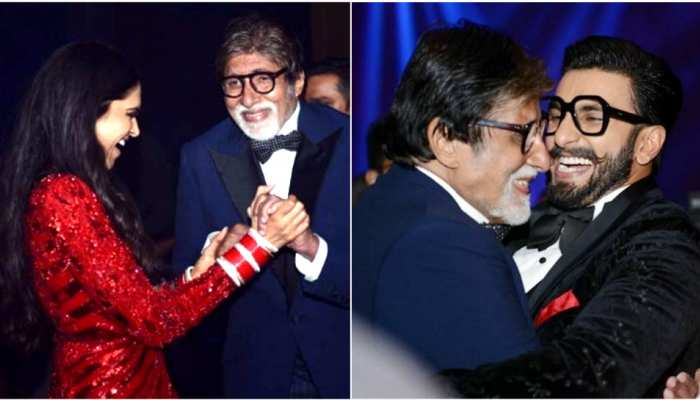 Amitabh Bachchan Shares inside photos of Deepika Padukone and Ranveer Singh Reception
