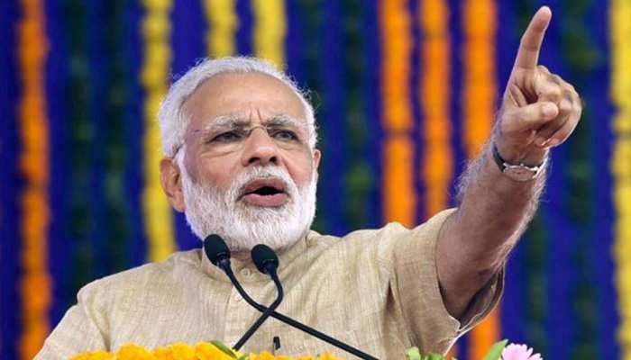 राजस्थान: देश की सारी बीमारियों की जड़ कांग्रेस है- पीएम मोदी