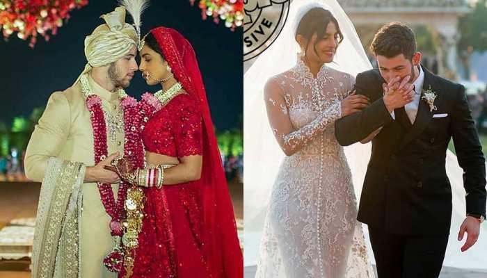 जिसका था बेसब्री से इंतजार, आ गई प्रियंका चोपड़ा और निक की शादी की First Photo