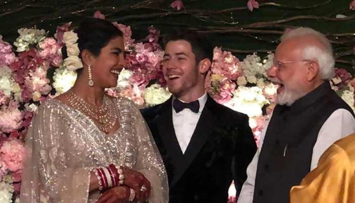 PM Narendra Modi in Priyanka Chopra-Nick Jonas Wedding Reception in delhi, See Pics