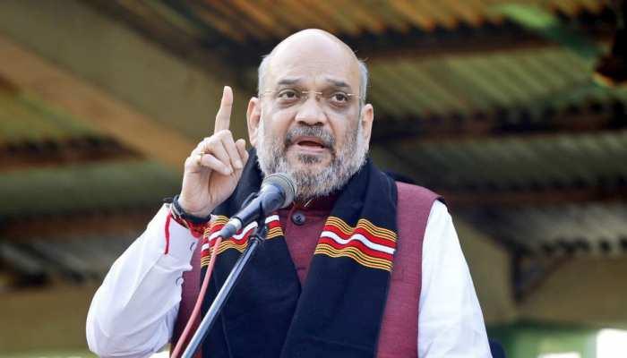 अमित शाह बोले, 'उत्तर प्रदेश में अगर एसपी और बीएसपी साथ आती हैं तो कुछ समस्या आएगी'