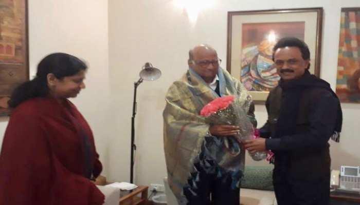 एनसीपी प्रमुख शरद पवार से मिले स्टालिन और कनिमोझी, कई मुद्दों पर हुई चर्चा