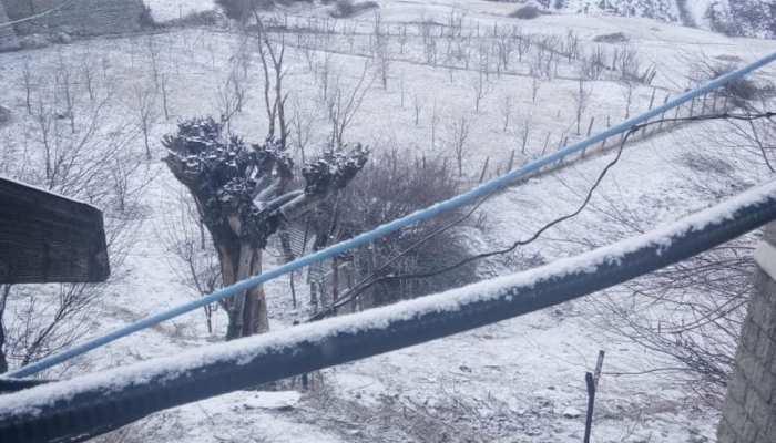Heavy snowfall in jammu Kashmir and Himachal Pradesh