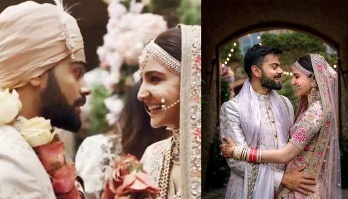 virat kohli shared these pics on his first wedding anniversary, have a look