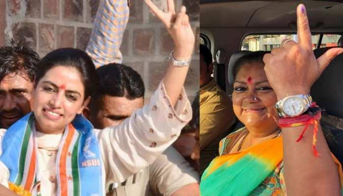 राजस्थान चुनाव में नहीं दिख रहा महिला उम्मीदवारों का जादु, अब तक केवल 4 सीटों पर जीत