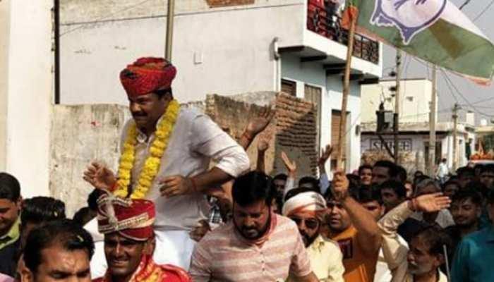 राजस्थान विधानसभा चुनाव में राजकुमार शर्मा ने लगाई हैट्रिक, नवलगढ़ से फिर जीते