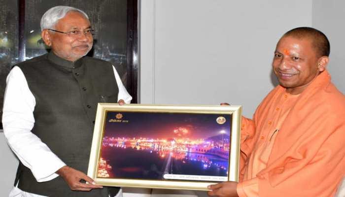 CM योगी-नीतीश कुमार के मुलाकात पर तेजस्वी यादव का तंज, JDU ने किया पलटवार