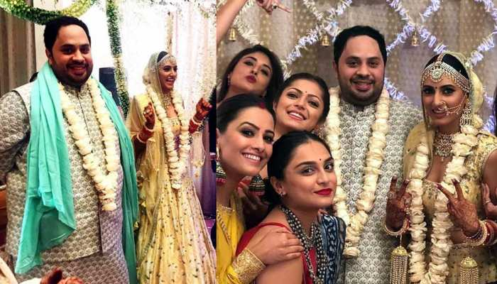 Ishqbaaaz Actress Additi Gupta Marries Boyfriend Kabir Chopra, see Photos