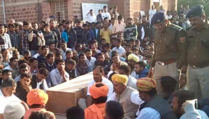 राजस्थान: पोकरण में बुजुर्ग की मौत के बाद फैला आक्रोश, शहर पुलिस छावनी में हुआ तब्दील