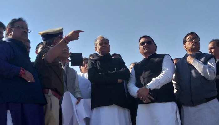 राजस्थान: शपथ ग्रहण समारोह में देश के दिग्गज विपक्षी नेताओं का होगा जमावड़ा
