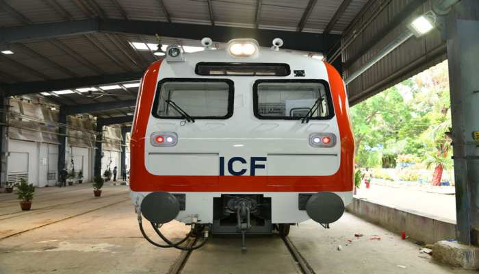 New MEMU train trial in delhi after Train 18
