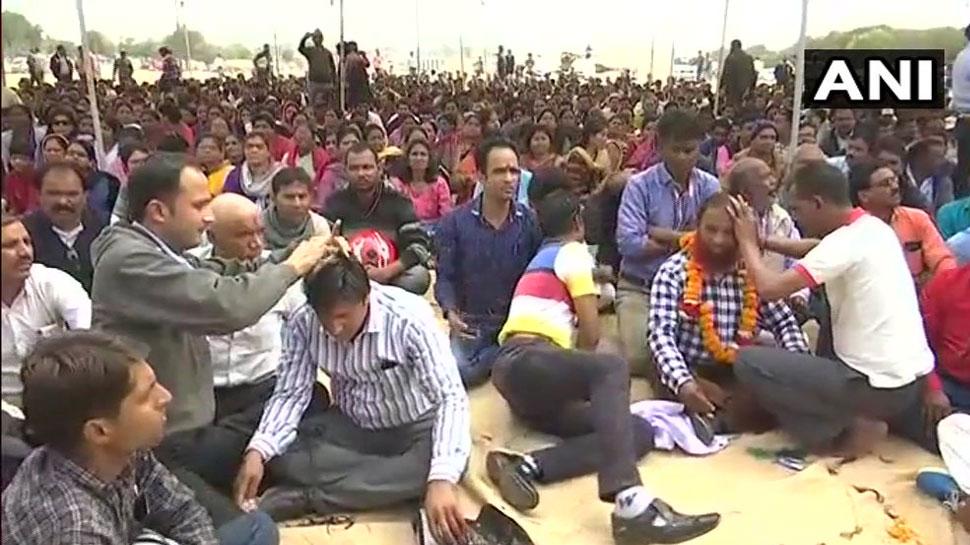Teachers protest, Madhya Pradesh Teacher, Adhyapak Adhikar Yatra,