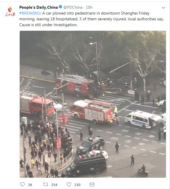 china, Shanghai, Terror attack, Minivan Tragedy